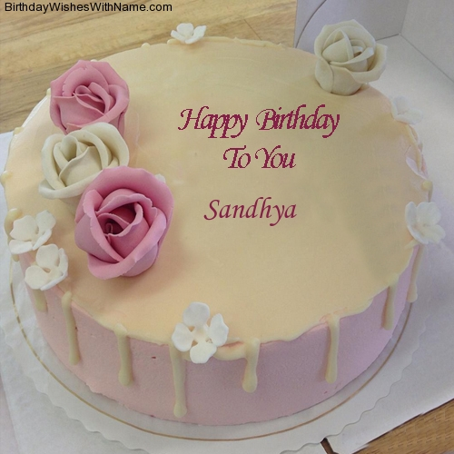 happy birthday wishes wallpaper download ; cake-wallpaper-with-name-sandhya