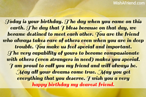 happy birthday wishing message for best friend ; 11750-best-friend-birthday-wishes