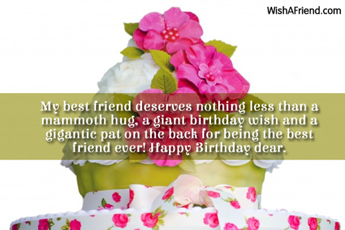 happy birthday wishing message for best friend ; 760b30f55d347e88fb63fc1d37969bdc