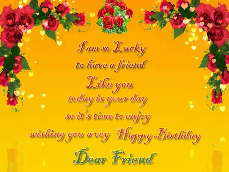 happy birthday wishing message for best friend ; Birthday-Greetings-For-Best-Friend85