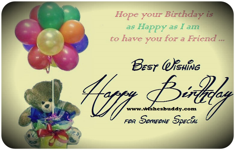 happy birthday wishing message for best friend ; Happy-Birthday-Wishes-buddy-quotes-2
