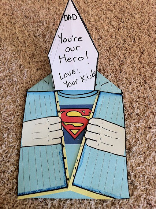 ideas for drawing birthday cards ; super-hero-birthday-card-ideas-for-dad-this-is-the-perfect-card-for-your-kids-to-make-for-dad-its-easy-mess-free-and-super-hero-fun-with-text-youre-our-hero
