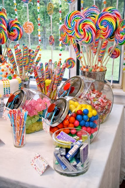 indoor birthday party activities ; Willy+Wonka+Candy+Theme+Birthday+Party