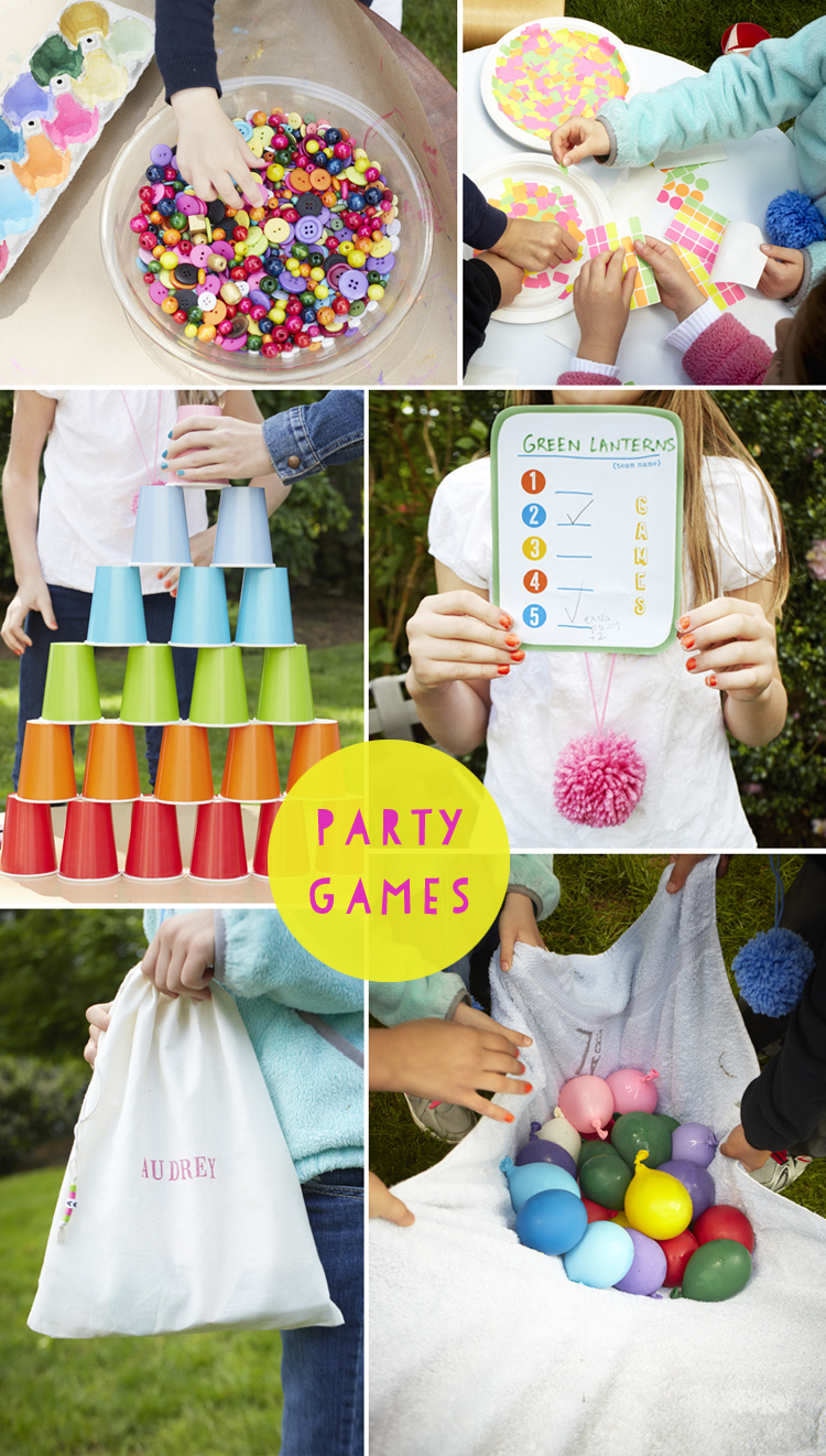indoor birthday party activities ; beautiful-idea-party-games-ideas-for-kids-a-backyard-birthday-artbar