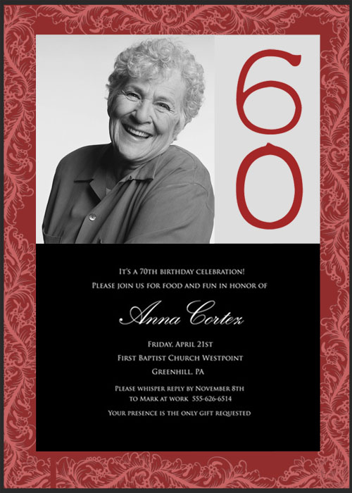 invitation card design for 60th birthday ; 60th-birthday-party-invitations-ideas