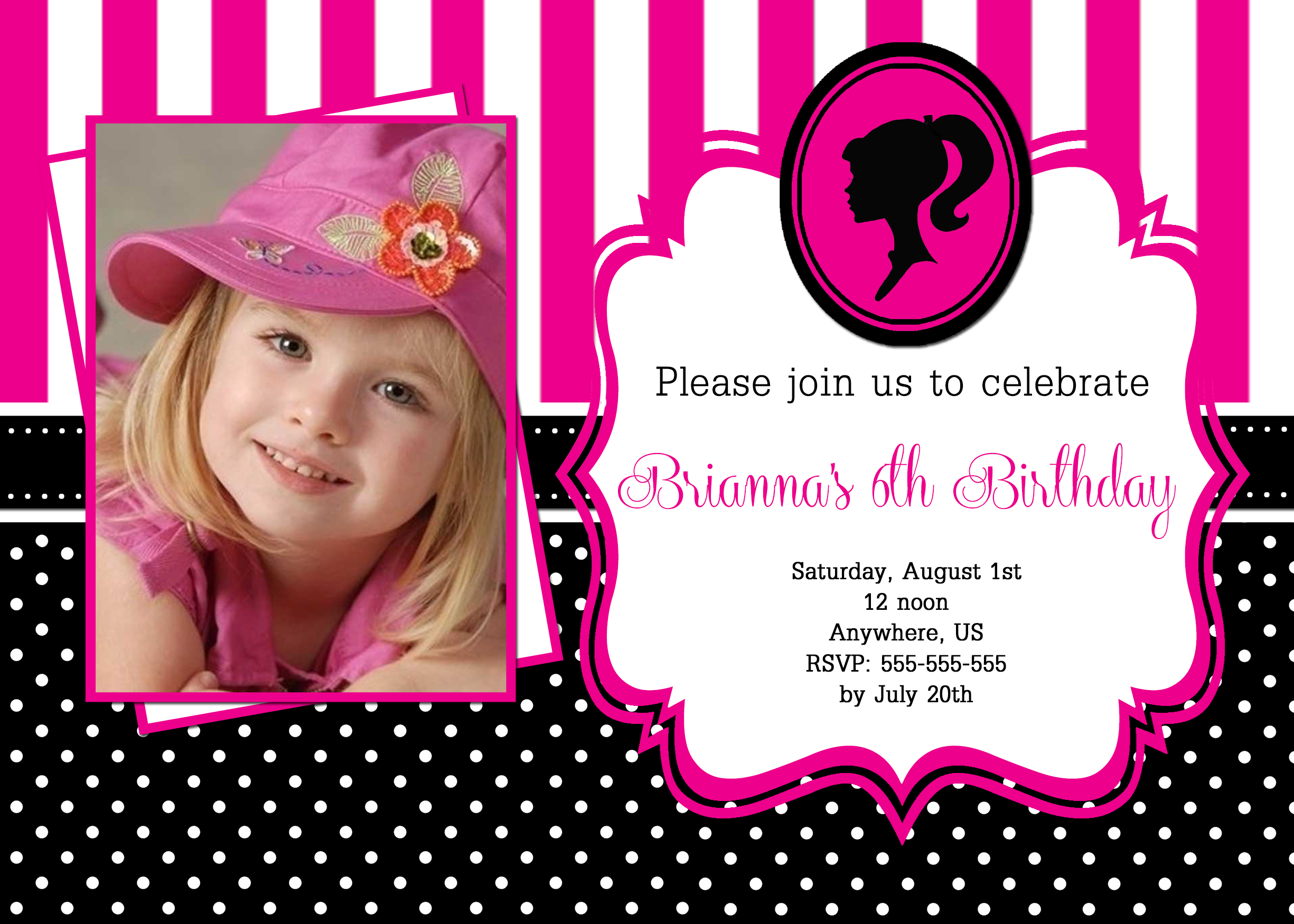 invitation card design for 7th birthday boy ; a680d7100da96c05090458665418a17a