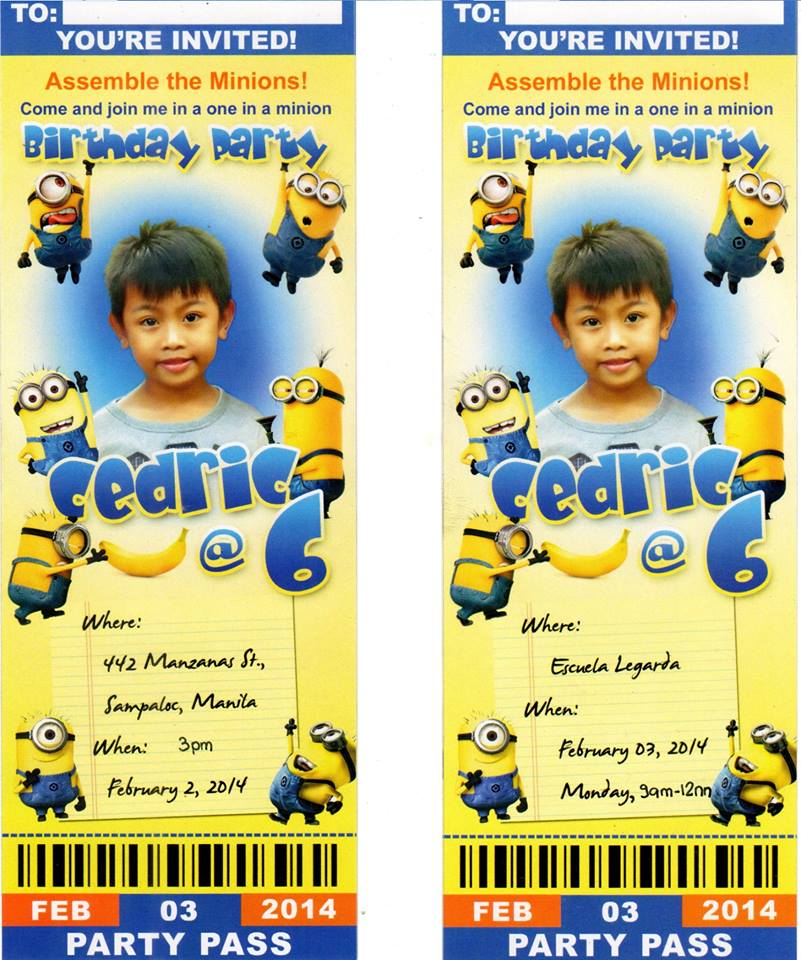 invitation card design for 7th birthday boy ; ace76ef028c4ffd54cdf4d290a2d888e