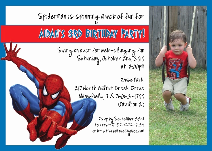 invitation card design for 7th birthday boy ; invitation-card-7th-birthday-boy-awesome-spiderman-birthday-party-invitations-template-of-invitation-card-7th-birthday-boy