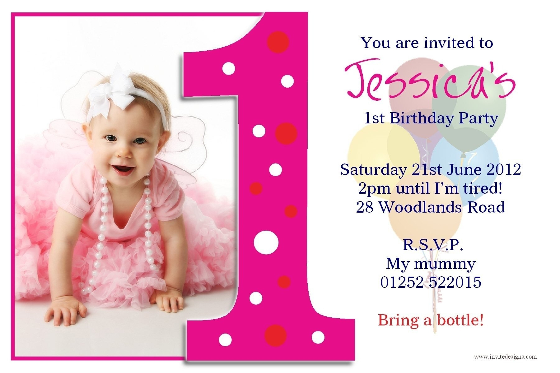 invitation card design for birthday party free ; 1st-birthday-invitation-card-template-template-classy-invitation-card-design-for-birthday