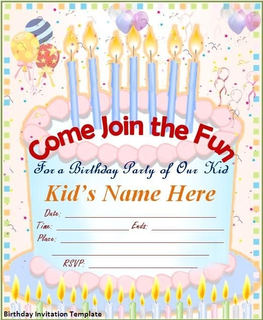 invitation card design for birthday party free ; happy-birthday-invitation-card-template-free-birthday-invite-happy-within-birthday-invitation-card-design-template-free-download