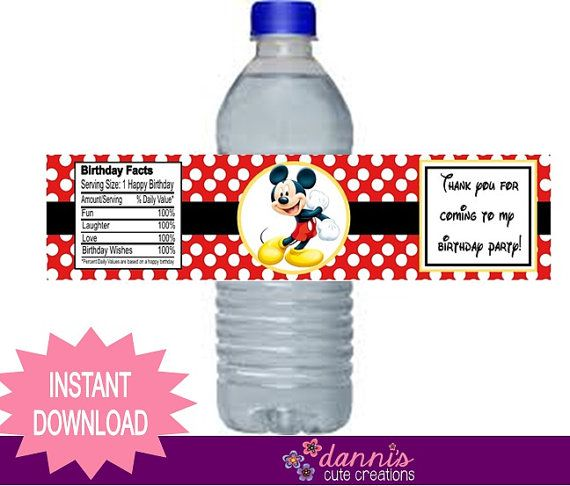 labels for birthday party favors ; 95135dcc7eab2cf1e7d476a89023d46b--water-bottle-labels-water-bottles