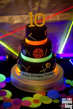 laser tag birthday cake images ; 499bb3421301faa9d31b6dc621418263
