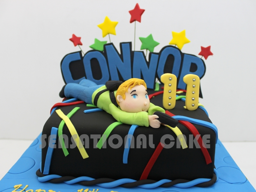 laser tag birthday cake images ; the-sensational-cakes-june-2015-with-birthday-cake-ideas-for-laser-tag-party