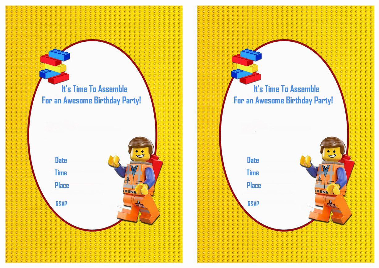 lego themed birthday invitation card ; lego-birthday-invitations-combined-with-various-colors-to-modify-your-Birthday-Invitation-Cards-invitation-card-design-17