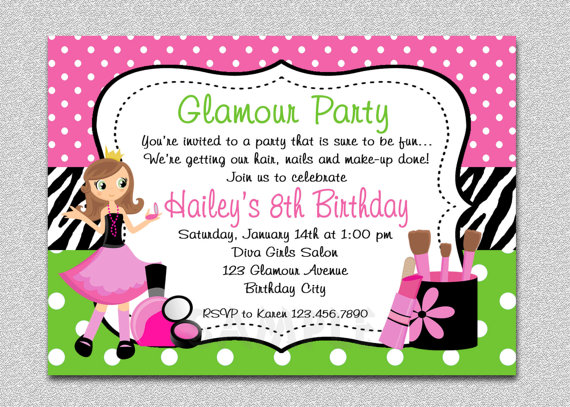 little girl birthday invitations printable ; 3c7f36379b430ceec6b8d608300d7b6b
