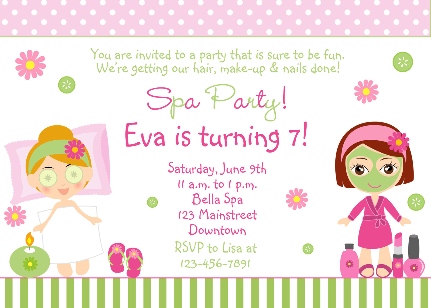 little girl birthday invitations printable ; 49b45046f28a09f0c20364121b2ffeff