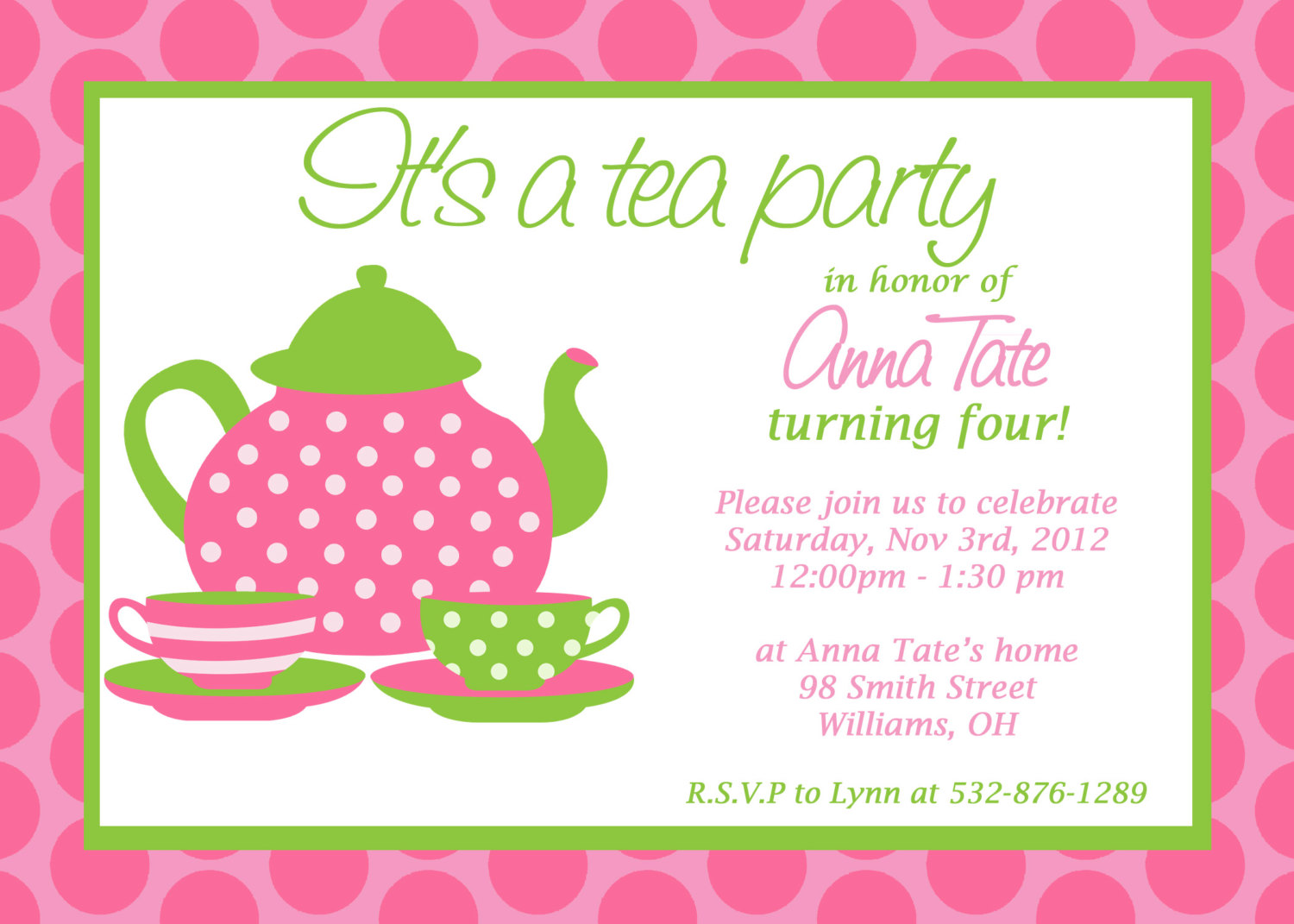little girl birthday invitations printable ; free_printable_tea_party_invitations_for_little_girls