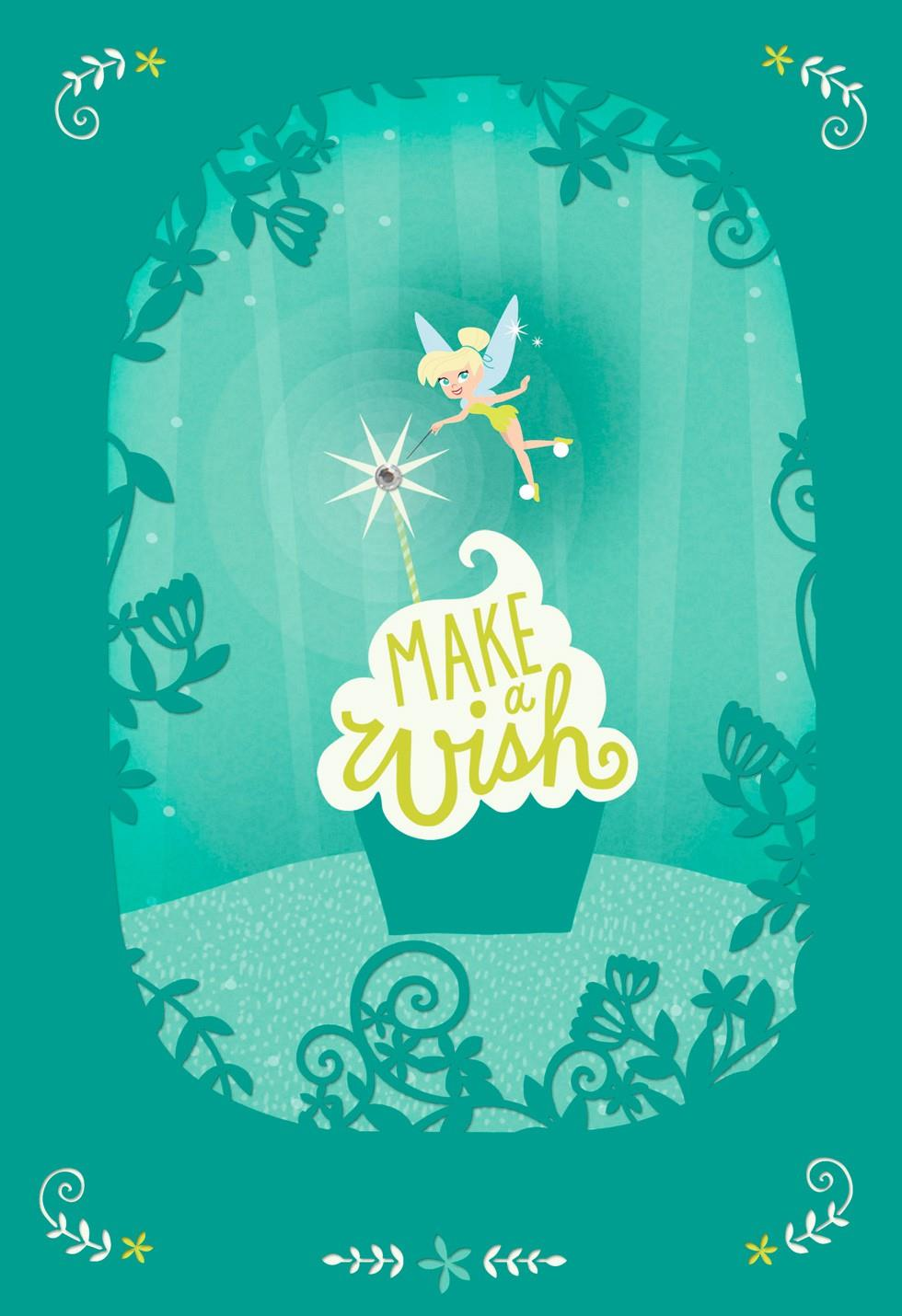 make a birthday wish picture ; make-a-wish-daughter-tinker-bell-birthday-card-root-599fbd1152_1470_1