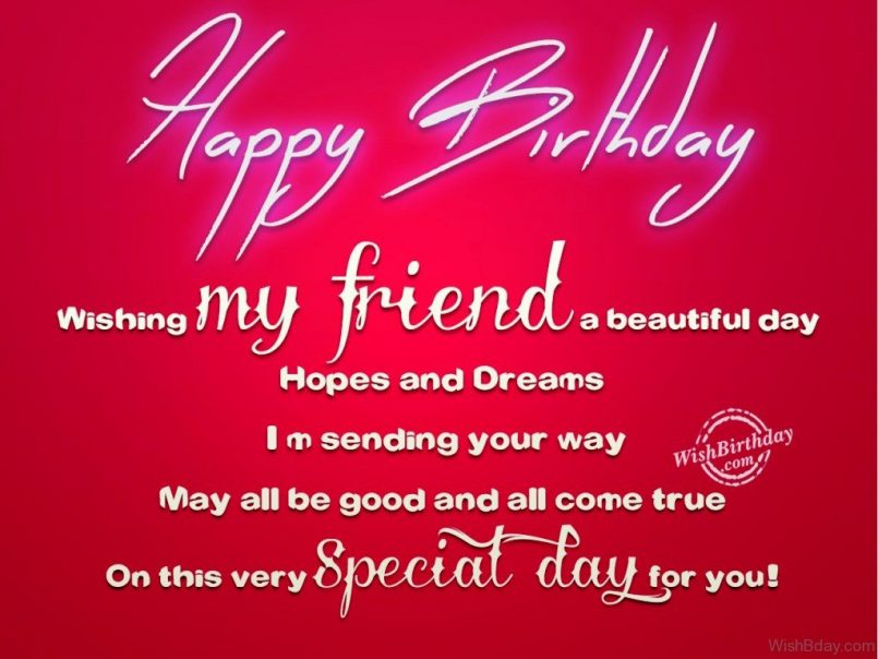 message birthday friend wishes ; Birthday-Wishes-To-A-Beautiful-Friend-Together-With-Birthday-Wishes-To-My-Ex-Friend-As-Well-As-Birthday-Greetings-To-A-Friend-With-Message-805x604