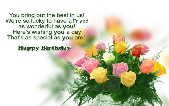 message birthday friend wishes ; a092d5be46a853913c575bc557530d2c