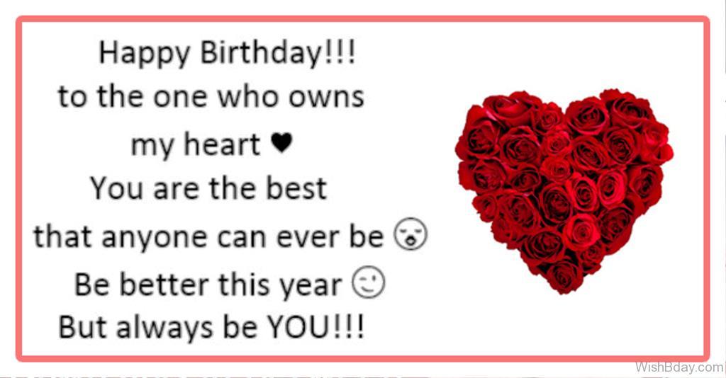 message for birthday wishes for boyfriend ; Happy-Birthday-To-The-One-Who-Owns-My-Heart