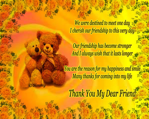 message of thanks to friends for birthday wishes ; 310316