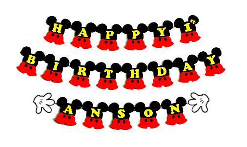 mickey mouse birthday banner with photo ; mickey-mouse-birthday-banner-personalized-mpcreative-1512-03-mpcreative@9