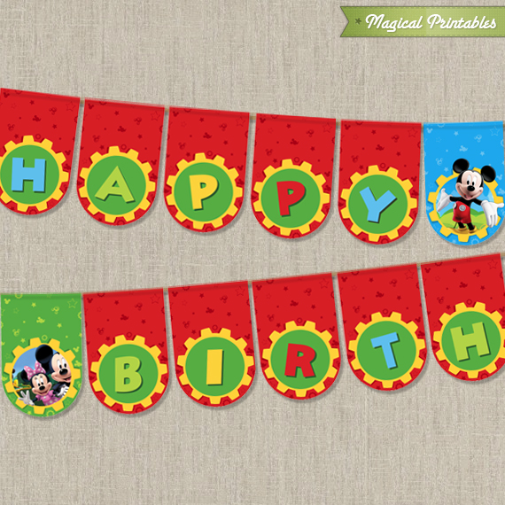 mickey mouse birthday banner with photo ; mickey-mouse-happy-birthday-banner