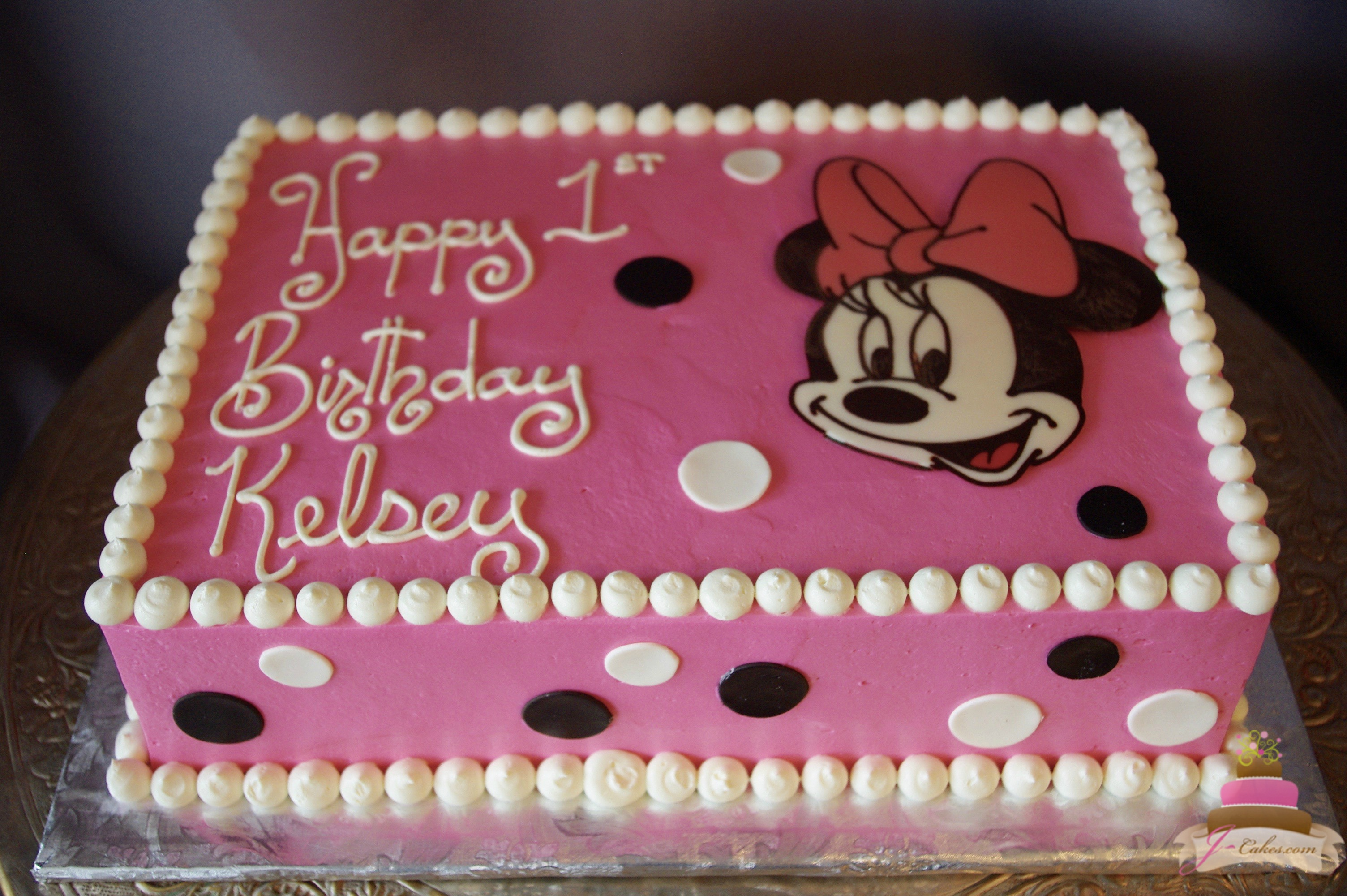 mickey mouse birthday sheet cake ; IMGP7550
