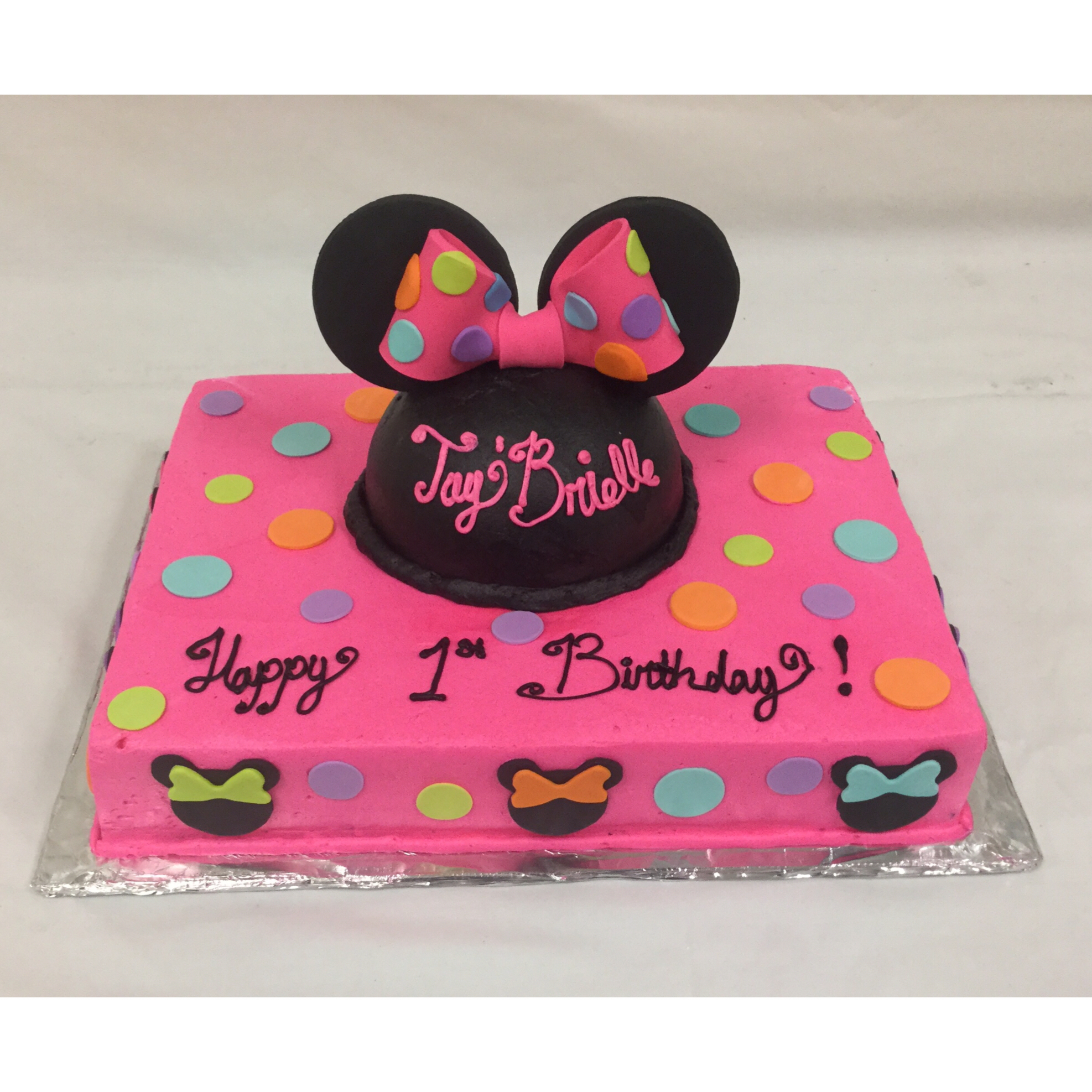 mickey mouse birthday sheet cake ; f731acd6725827331c1a1e76fa1dca8b
