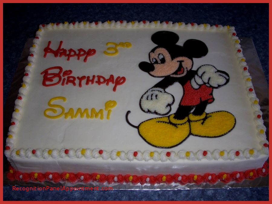 mickey mouse birthday sheet cake ; mickey-mouse-birthday-sheet-cake-awesome-mickey-mouse-1-2-sheet-picture-done-with-pattern-transfer-of-mickey-mouse-birthday-sheet-cake