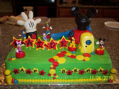 mickey mouse birthday sheet cake ; mickey-mouse-clubhouse-birthday-cake-21424026