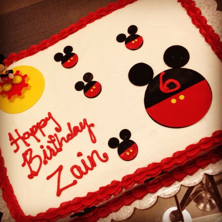 mickey mouse birthday sheet cake ; mickey_mouse_sheet_cake_ideas_6203_1