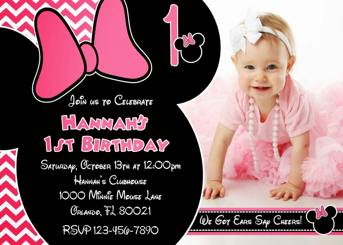mickey mouse themed birthday party invitation wording ; Charming-Minnie-Mouse-Party-Invitations-To-Design-Party-Invitations
