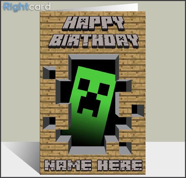 minecraft happy birthday card template printable ; b5b376cfe7540316c0a1bc69bb132bf7--minecraft-birthday-card-birthday-cards