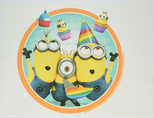 minion birthday sheet cake ; 81s6bkAtFgL