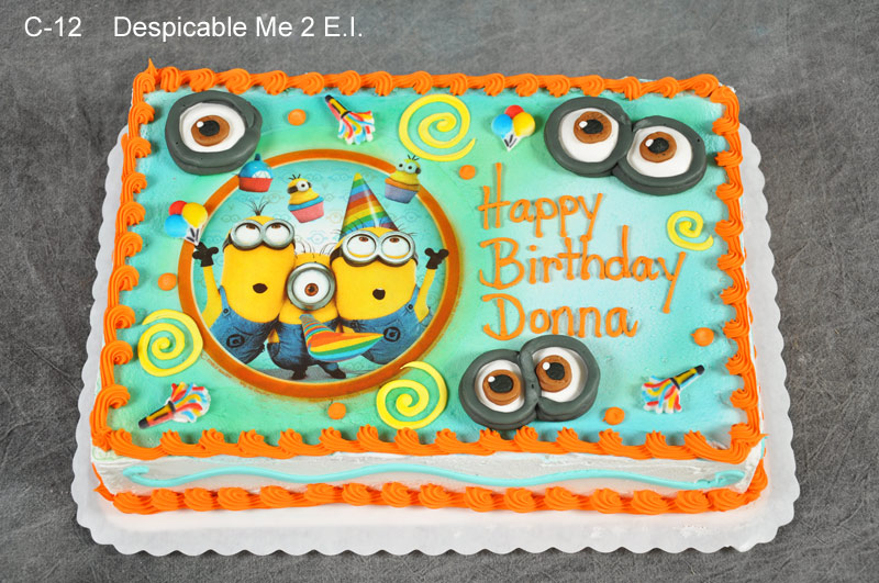 minion birthday sheet cake ; despicable-me-birthday-cakes-despicable-me-2-birthday-cake-luongphan-green-and-orange-color-combination-minion-color-cake-ideas