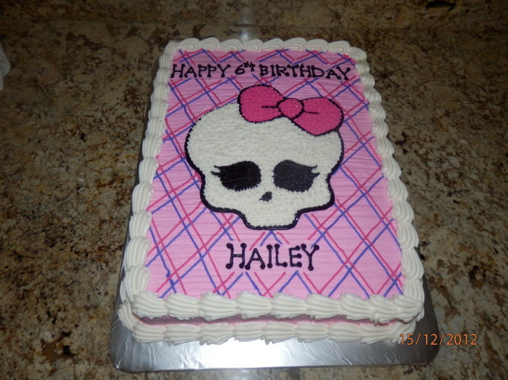 monster high birthday sheet cake ; 2329eec610a83ba475eaa02973abc628