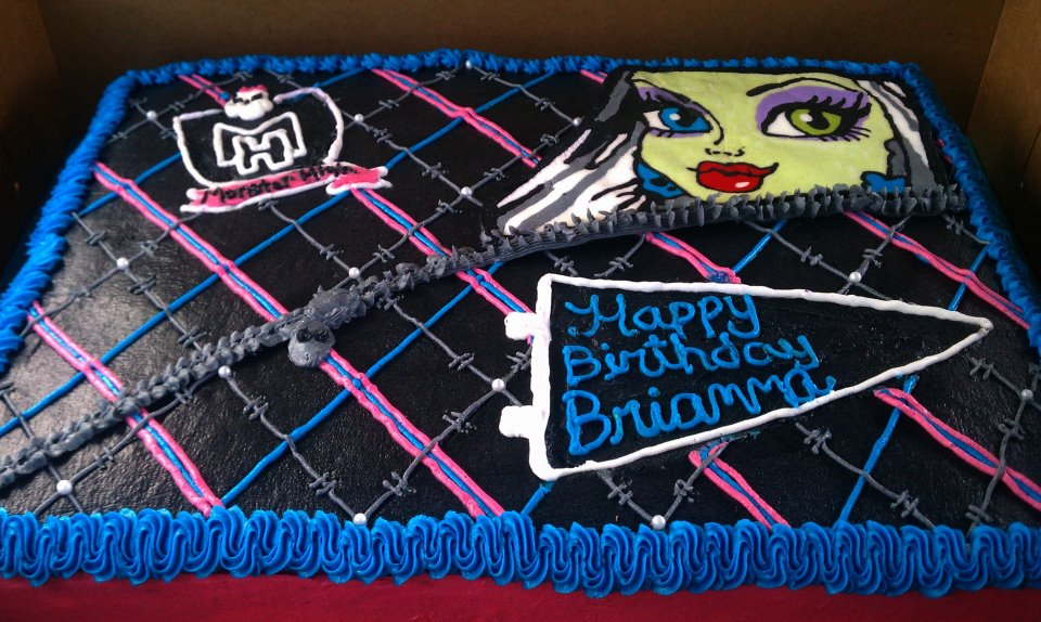 monster high birthday sheet cake ; 317862_199717523433866_100001868584970_467771_555520465_n