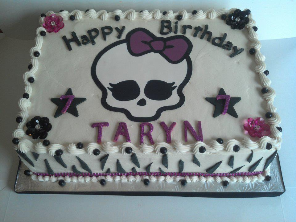 monster high birthday sheet cake ; 60600_4882626191674_2060661868_n