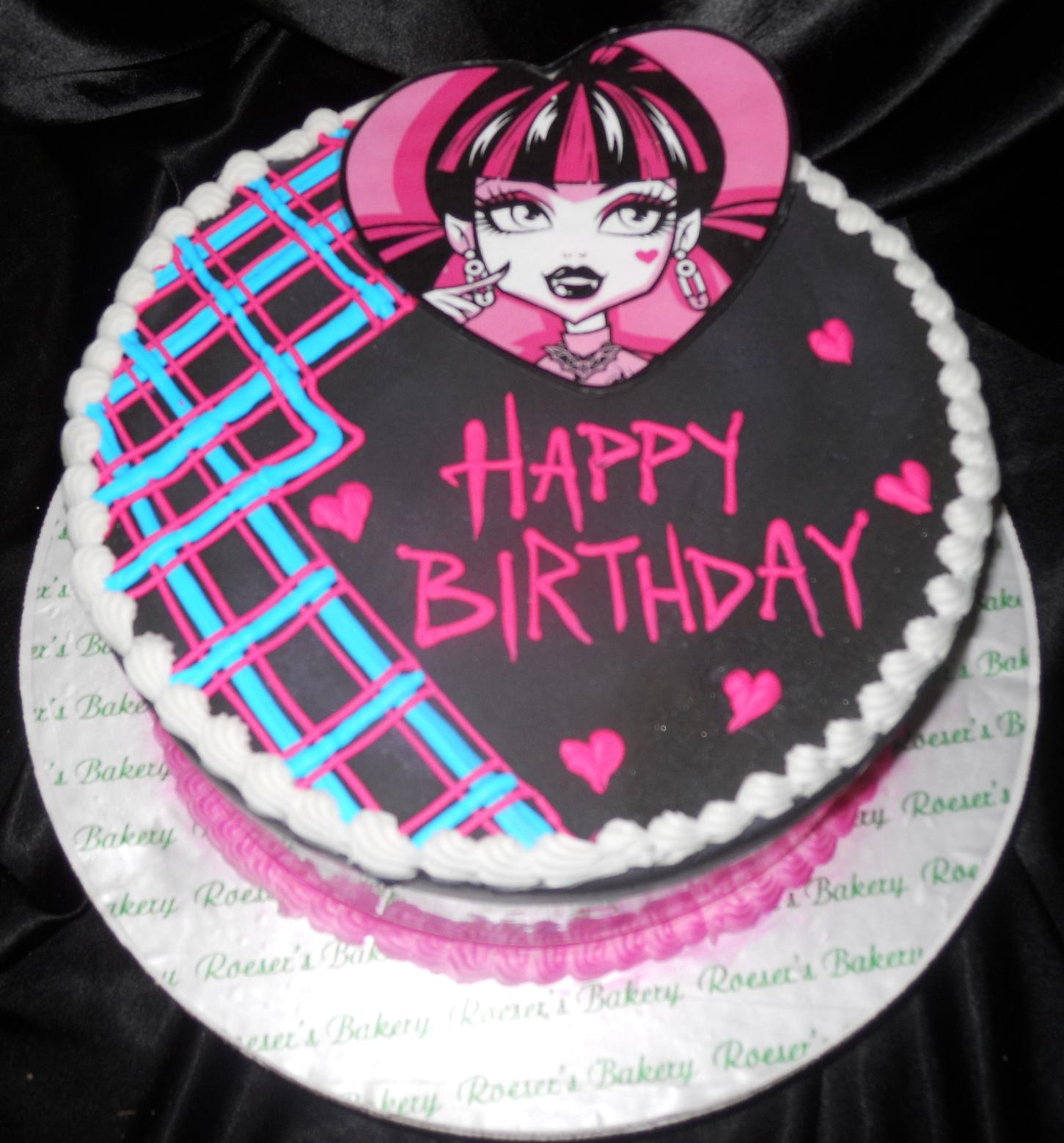 monster high birthday sheet cake ; monster-high-birthday-cake-kits