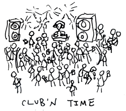 my birthday drawing ; ClubNTime
