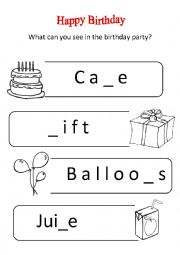 my birthday worksheet ; thumb204230526338763
