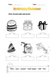 my birthday worksheet ; thumb803101726100564
