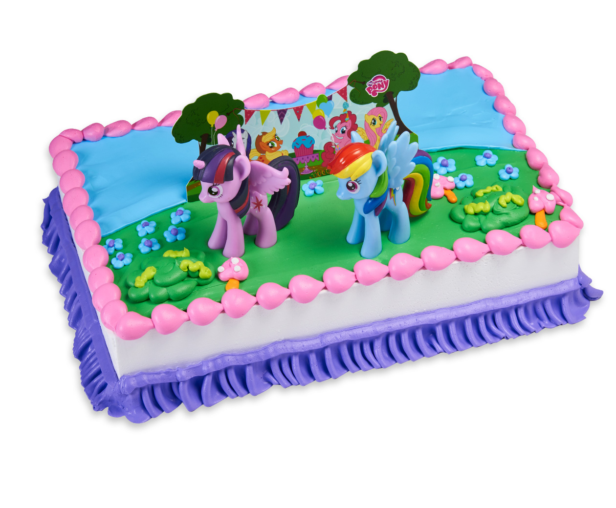 my little pony birthday sheet cake ; My-Little-Pony-Its-a-Pony-Party_Rect