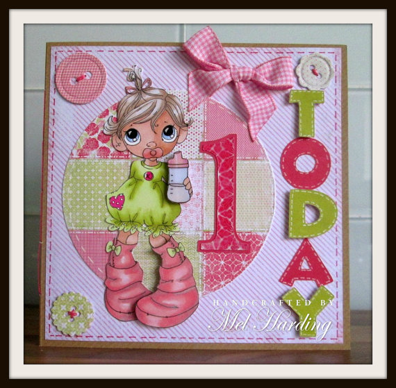 Birthday Cards For 1 Year Old Baby Girl Birthday Wishes For A Sweet