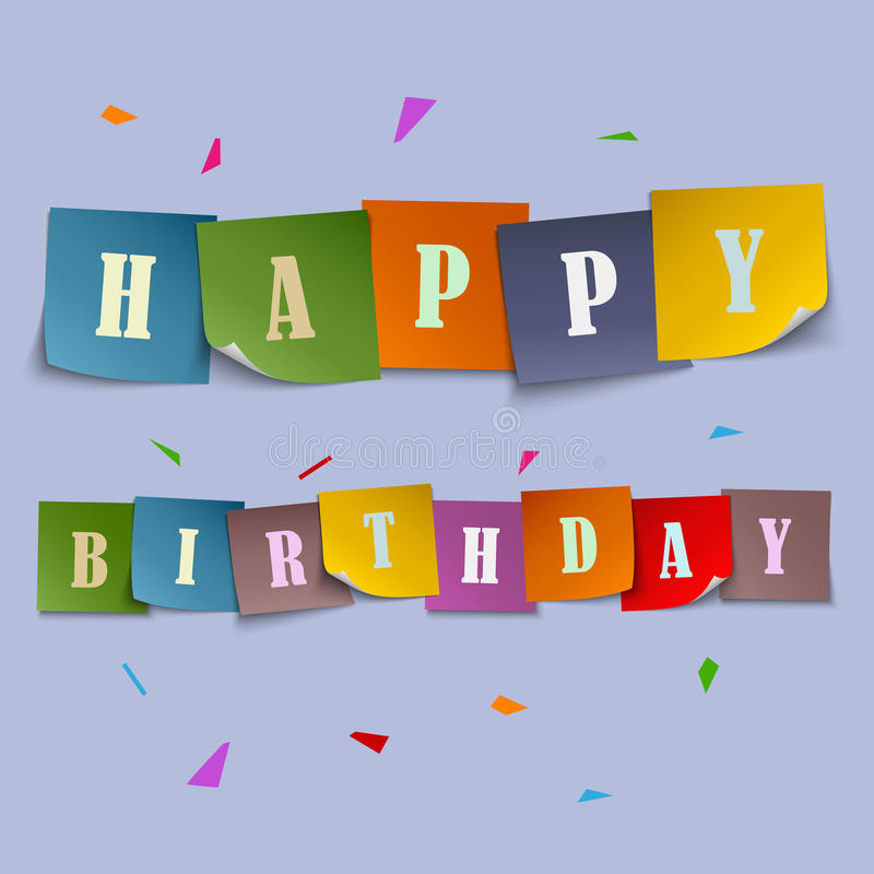 number stickers for birthday cards ; happy-birthday-card-colored-stickers-template-vector-eps-54496819