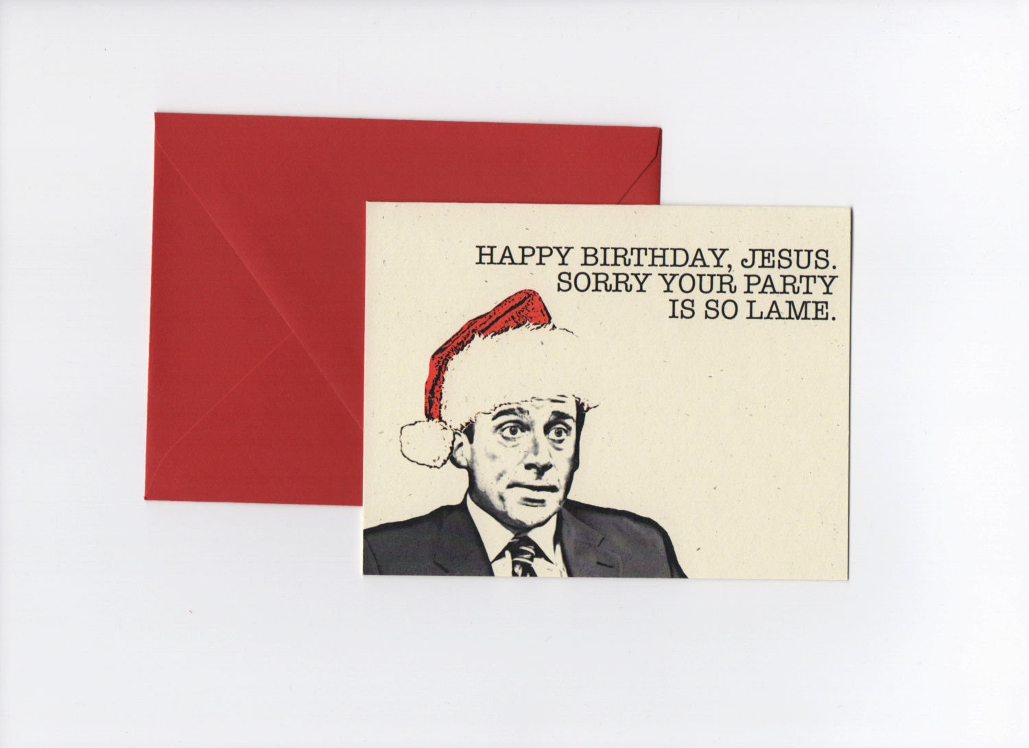 office birthday card quotes ; the-office-birthday-cards-lovely-happy-birthday-jesus-michael-scott-the-fice-christmas-of-the-office-birthday-cards