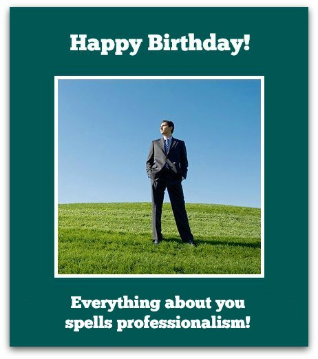 office birthday card quotes ; xColleague2
