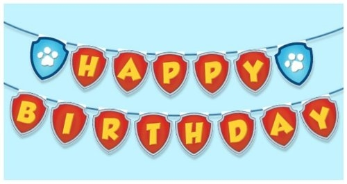 paw patrol birthday banner with photo ; paw-patrol-birthday-with-paw-patrol-birthday-banner